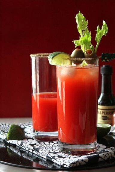 Nothing says brunch get-together quite like Bloody Marys! This Caesar Cocktail is no exception. Town House Tip: Be sure to garnish this drink with olives, limes, and celery.