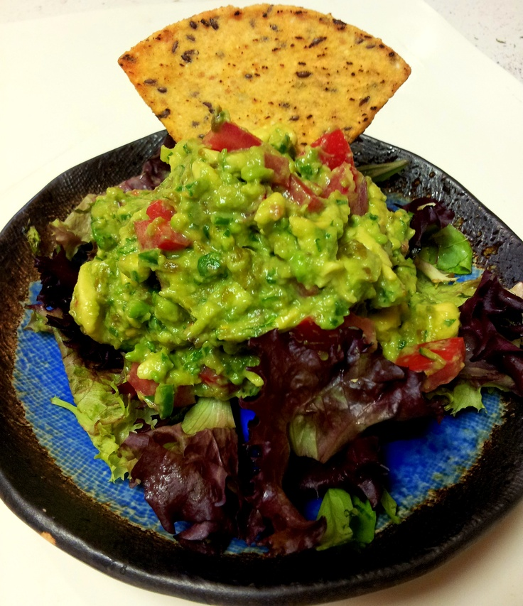 Who say's you can't have Hatch Green Chile guacamole for breakfast??