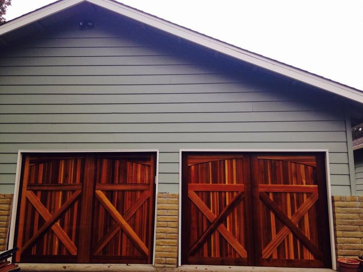 33 Best Wood Garage Doors Images On Pinterest