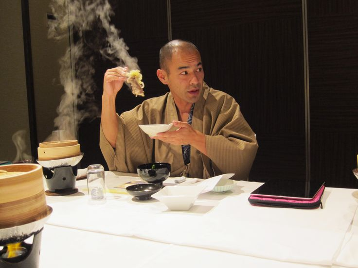 Dinner with Riki at Hikone Castle 2014