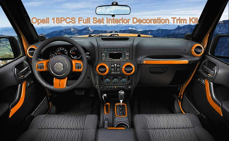 You should replace your transmission fluid once a year. Full Set Interior Decoration Trim Kit for Jeep Wrangler JK