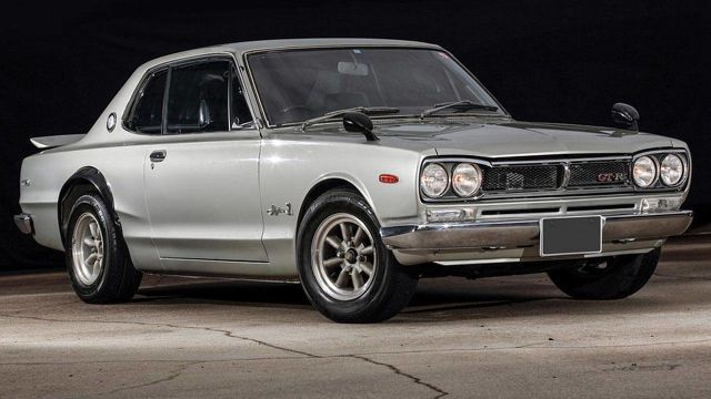$1.75 million worth of Japanese cars for sale at Pebble Beach