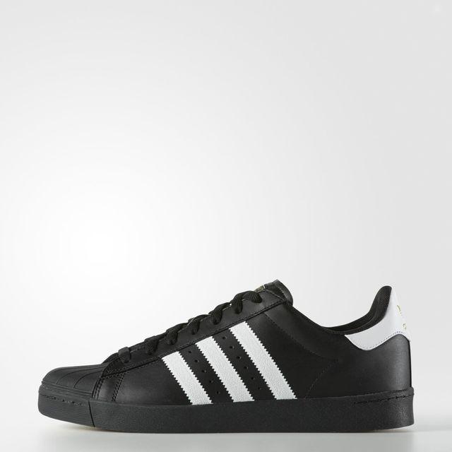 adidas Superstar Vulc ADV Shoes - Black | adidas US
