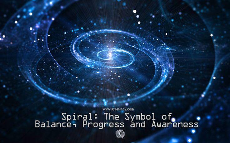 Spiral: The Symbol of Balance Progress and Awareness - @psyminds17