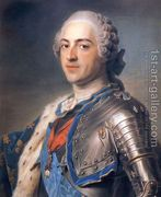 Portrait of King Louis XV 1710-74 1748  by Maurice Quentin de La Tour
