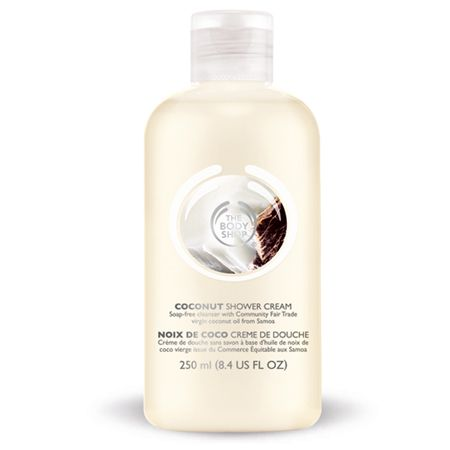 COCONUT SHOWER CREAM from THE BODY SHOP