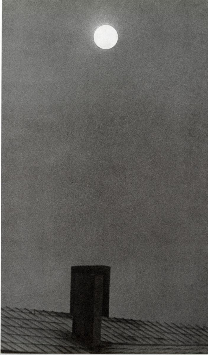 Kicken Berlin, Otto Steinert, Mond überm Dach, 1949 , Courtesy the artist and the gallery