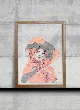Pink Boheme  af Madstitch