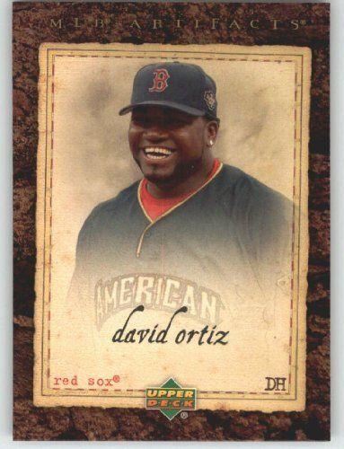2007 Upper Deck Artifacts #2 David Ortiz - Boston Red Sox (Baseball Cards) by Upper Deck Artifacts. $1.14. 2007 Upper Deck Artifacts #2 David Ortiz - Boston Red Sox (Baseball Cards)