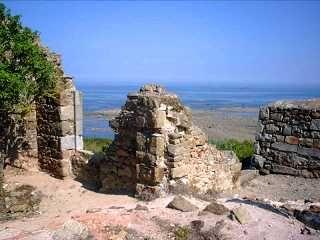 Pleubian : ruines du sémaphore