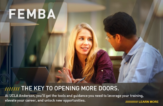 Part Time MBA | Evening MBA | FEMBA Program | UCLA Anderson School of Management