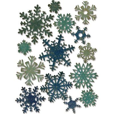 Sizzix+Thinlits+Dies+-+Mini+Snowflakes+-+Tim+Holtz