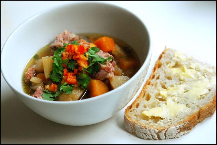 Høstsuppe - Fru Jacobsen