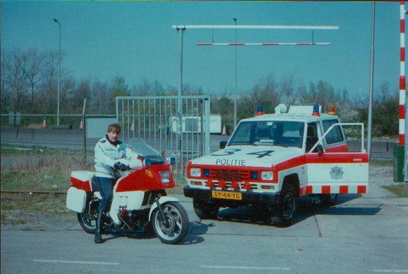 Verkeersdienst Gemeentepolitie Amsterdam 1983