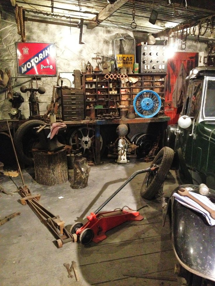 Looks like my garage..