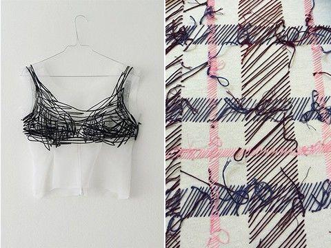 Punky stitches: modern borduurwerk is edgy en imperfect