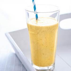 Banaan-mango-dadelsmoothie