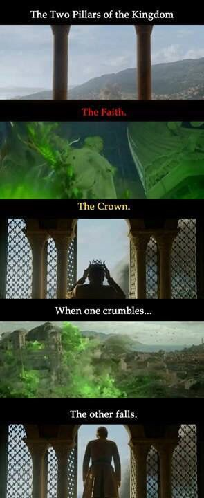 The Two Pillars   Game of Thrones Memes