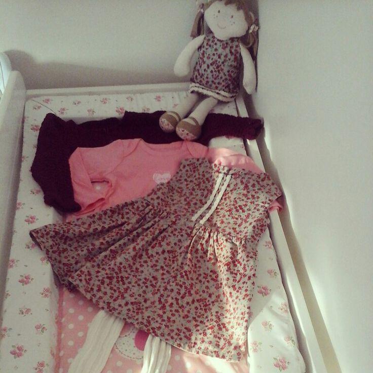 Dress & doll@linzy_o #childrenswear #toocute #handmade