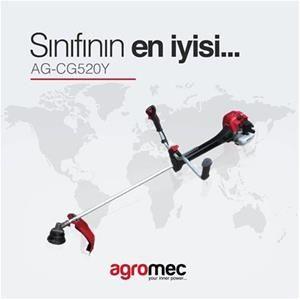AgroMec Motorlu Tırpan AG-CG520 Y 3 Hp