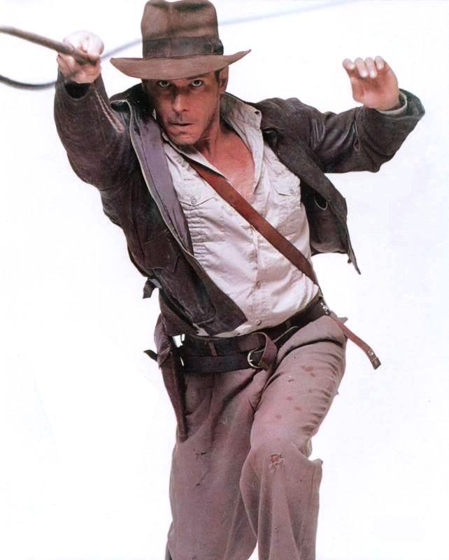 Indiana Jones Promo -- Close-Up for Costume Details