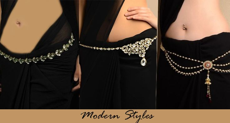 Modern and Stylish way to carry a Saree.