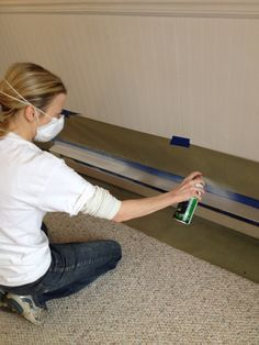 How to paint baseboard heaters like a pro. Saves a fortune compared to replacing.
