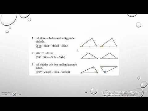 Matematik 5000 2bc VUX   Kapitel 3 - Geometri - Likformighet - Kongruens...