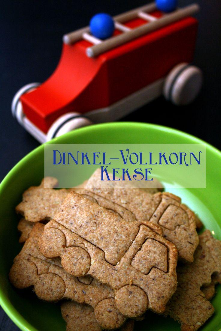 Brummbrumm… {Dinkel-Vollkorn Kekse} | Kuchenschlacht
