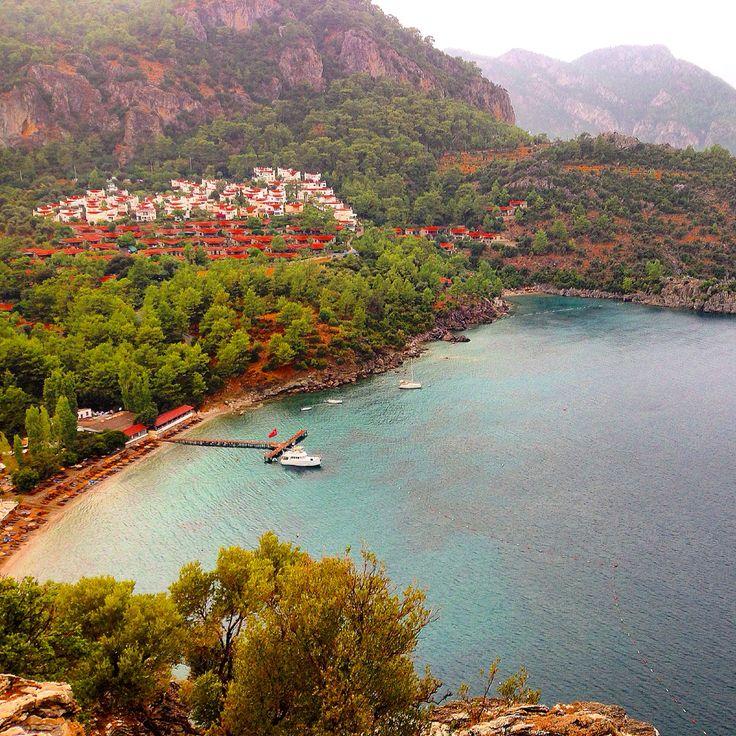 Turunç Bay, Marmaris, Turkey...