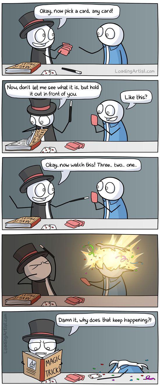 Magic Trick | Loading Artist