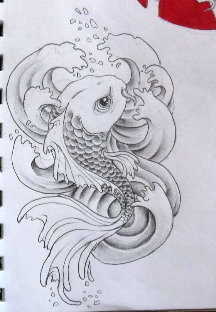 176 best koi tattoos and art images on pinterest fish for Koi fish scales