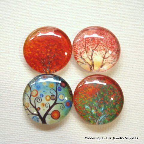 4pcs 25mm Mix Handmade Tree Glass Photo Cabochons PC620-M25 https://www.etsy.com/listing/287564265/4pcs-25mm-mix-handmade-tree-glass-photo?utm_source=socialpilotco&utm_medium=api&utm_campaign=api #supplies #cabochon