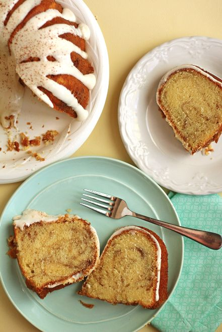 slim wallets Cinnamon Roll Pound Cake  Favorite Recipes