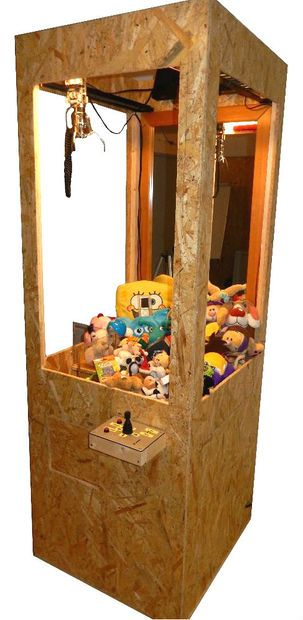 Picture of DIY CLAW MACHINE                                                                                                                                                     More