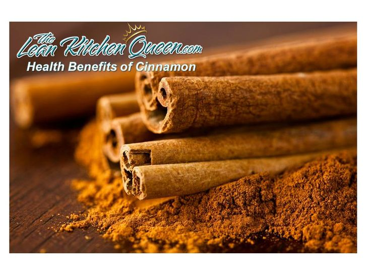 Cinnamon health benefits by the Lean Kitchen Queen