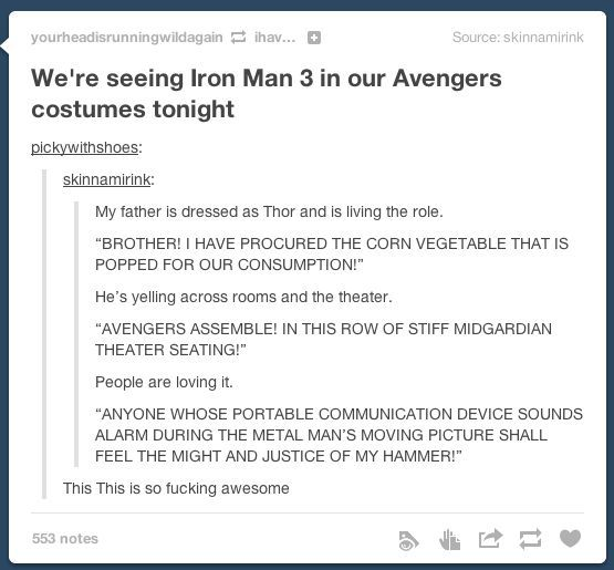 ALEX CAN WE OLZ DO THIS AT THE NEXT MARVEL MOVIE WE SEE THNX DIBS BEING TONY