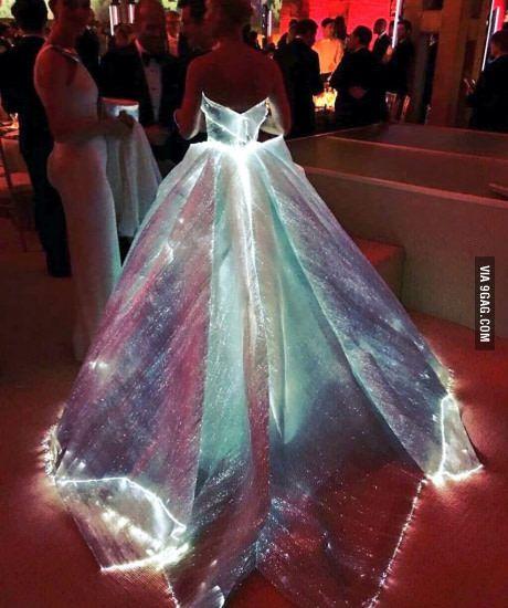 Optic Fiber Dress. You'll fall in love even faster.