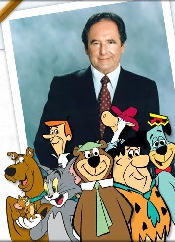 Joseph Barbera (1911-2006) - half of the creators of the Hanna-Barbera cartoons