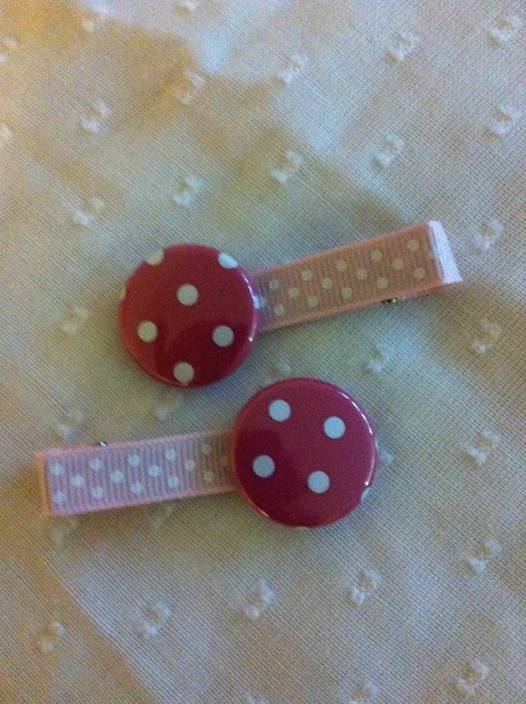 Dots hair clip