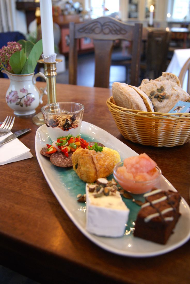 Women's museum cafe in Aarhus serves a lovely brunch in a very traditional authentic setting