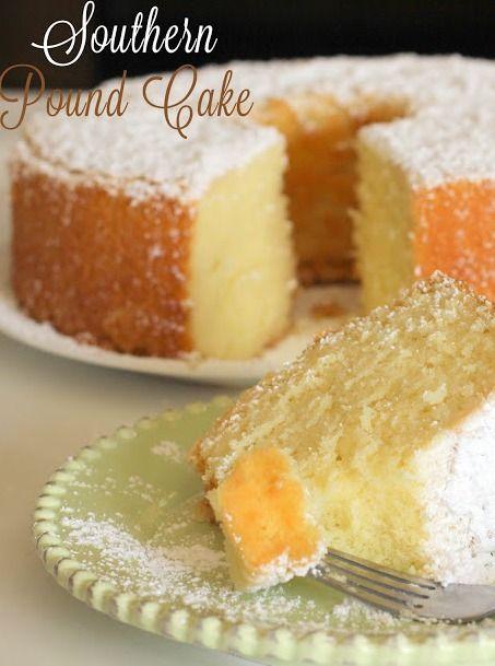 Southern Lemon Cake Recipe
