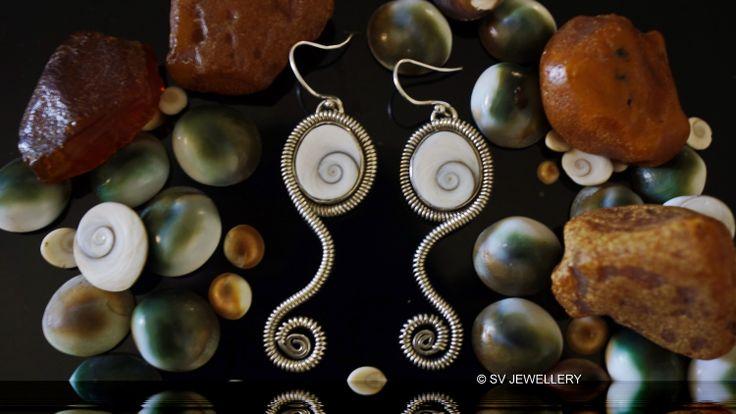 Shiva Eye Silver Earrings