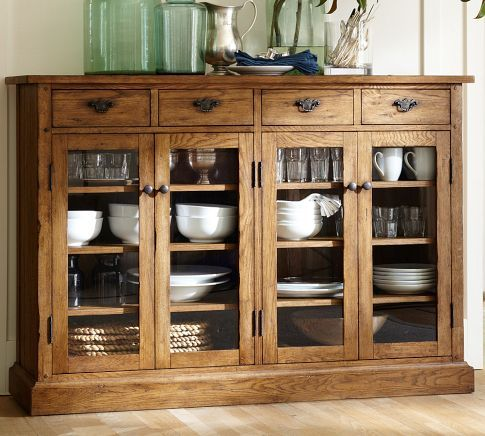 ... Buffet From Pottery Barn Allows You To Store A Lot And Keep It On  Display. Why Not Enjoy Special Pieces Every Day? Find This Pin And More On  Sideboards ...