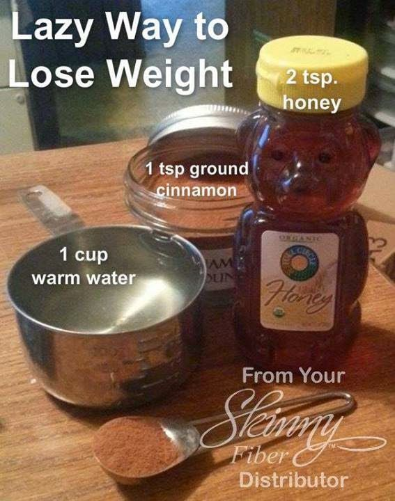 Healthy, Fast & Easy Weight Loss: Lazy Way to Lose Weight: Cinnamon, Honey, and Water