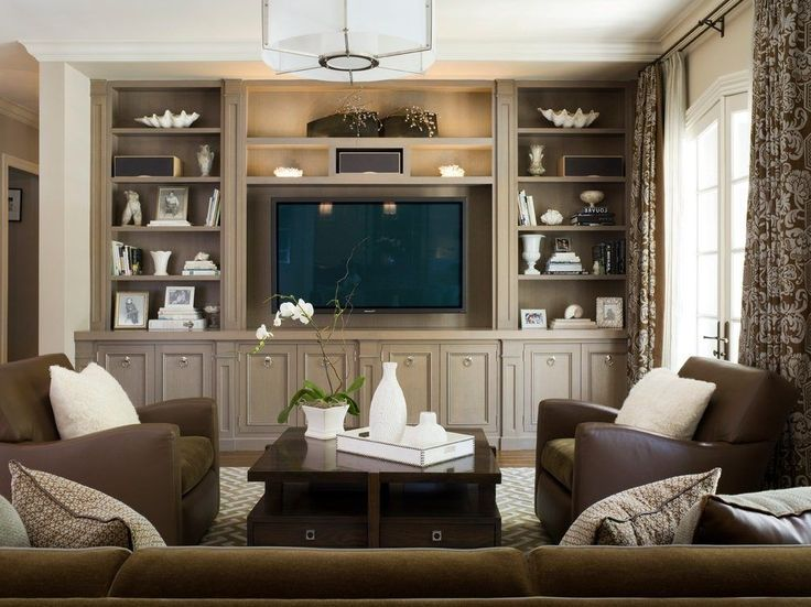 entertainment center decorating ideas family room traditional with french doors mcewen light fixture ceiling light