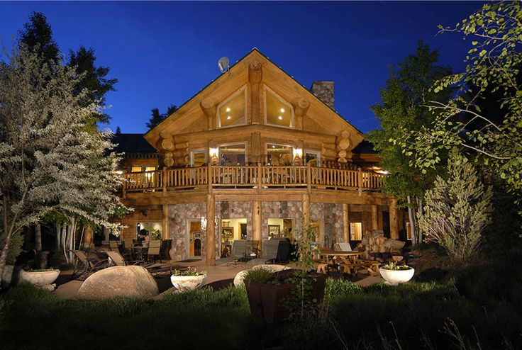 aspen colorado log home favorite places spaces
