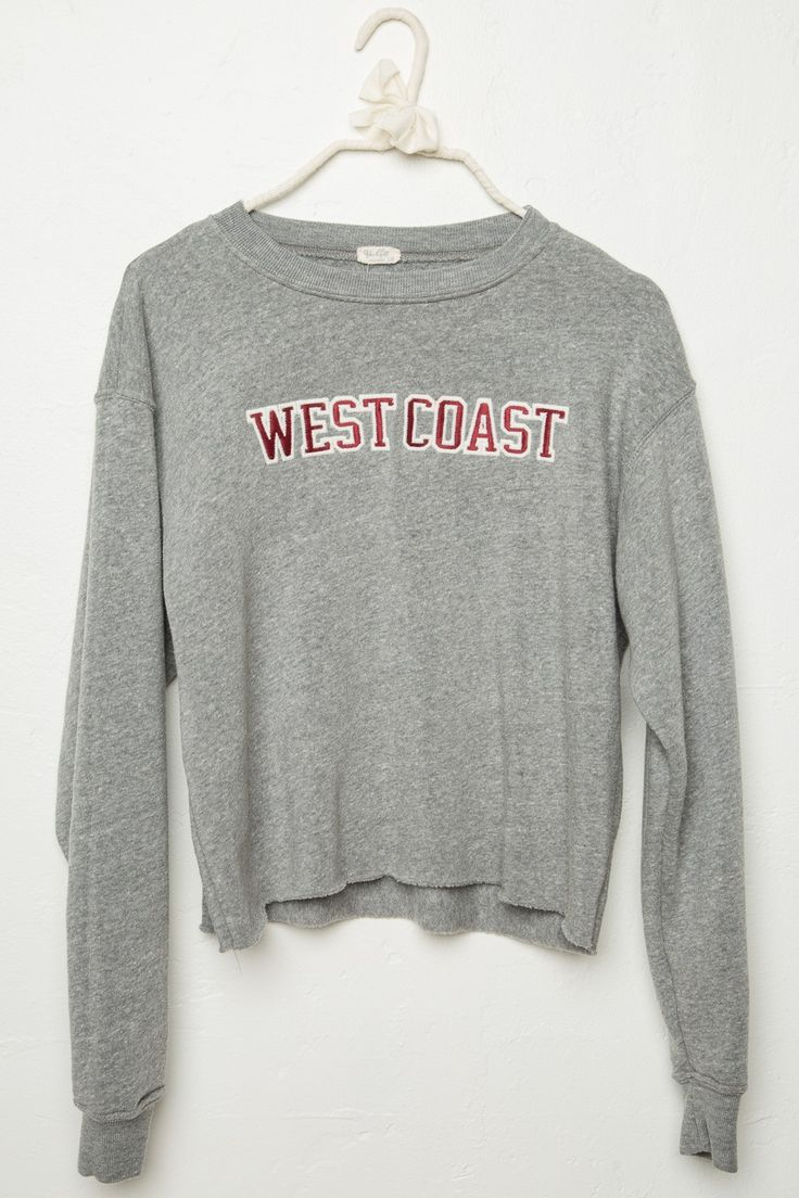 Brandy ♥ Melville | Acacia West Coast Patch Sweatshirt - Graphics