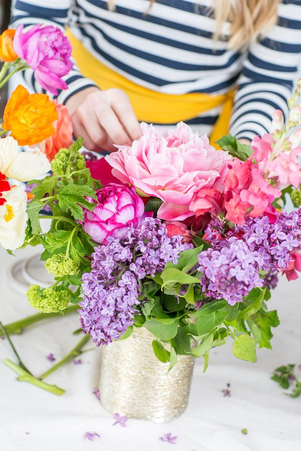 Floral Arranging Tips with Primary Petals