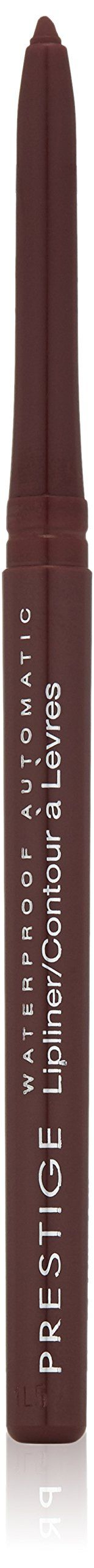 Prestige Cosmetics Waterproof Automatic Lipliner, Lullaby, 0.009 Ounce. Waterproof. Retractable. Never needs sharpening. Smooth application. Long lasting wear.